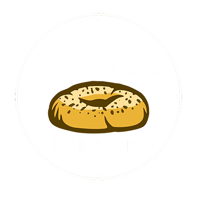 Bagel, Salad & Juice Logo